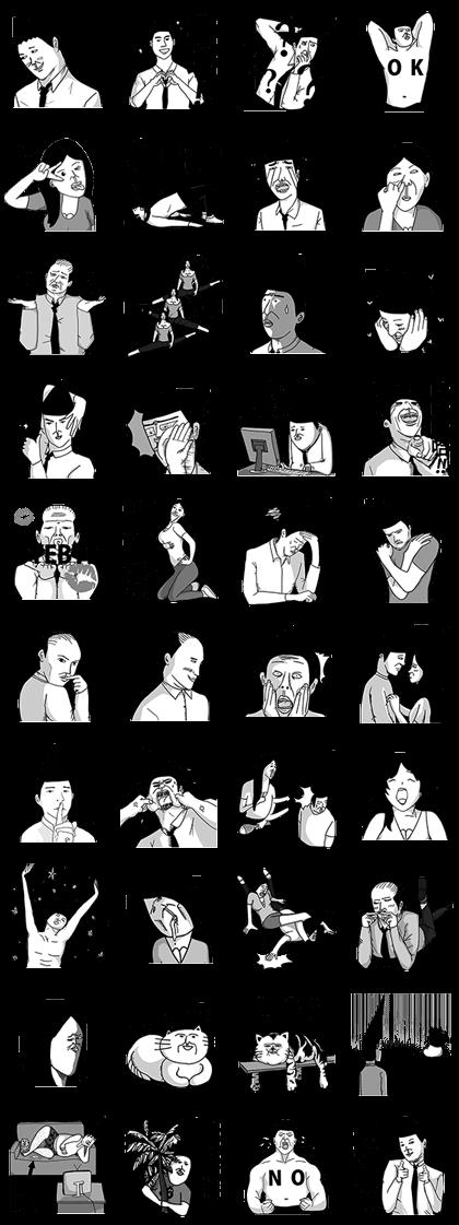 ByeBye ChuChu - Gentle Life Line Sticker GIF & PNG Pack: Animated & Transparent No Background | WhatsApp Sticker