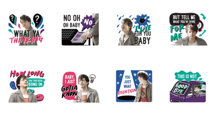 Charlie Puth Line Sticker GIF & PNG Pack: Animated & Transparent No Background | WhatsApp Sticker