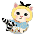Choo Choo Cats: Sweet Dreams Edition Sticker for LINE & WhatsApp | ZIP: GIF & PNG