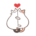 Coko's MixFlavor! Flighty Cat! Sticker for LINE & WhatsApp | ZIP: GIF & PNG