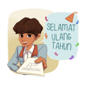 Dilan Movie Stickers Sticker for LINE & WhatsApp   ZIP: GIF & PNG