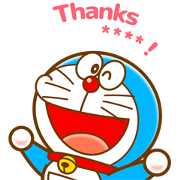 Doraemon Custom Stickers Sticker for LINE & WhatsApp | ZIP: GIF & PNG