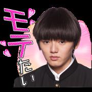 "Drama ""Mob Psycho 100"" Sticker for LINE & WhatsApp   ZIP: GIF & PNG"