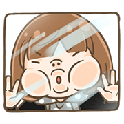 Ebi Can't Stop Moving Sticker for LINE & WhatsApp | ZIP: GIF & PNG