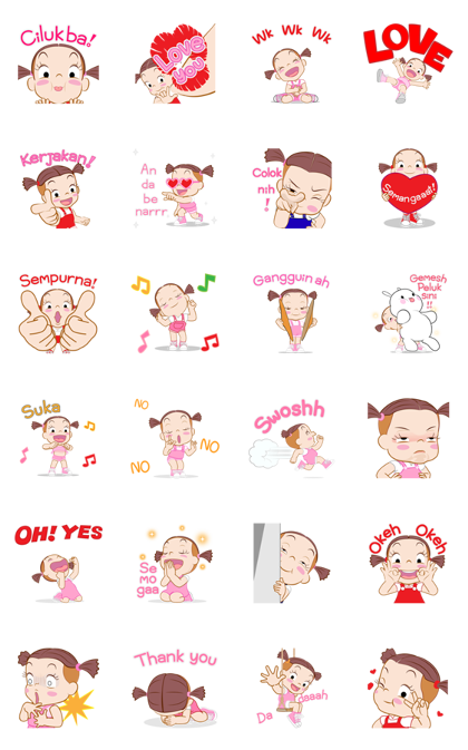 Jumbooka 5: Pop-Up Stickers Line Sticker GIF & PNG Pack: Animated & Transparent No Background | WhatsApp Sticker