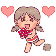 Kara's Day Animated Sticker for LINE & WhatsApp | ZIP: GIF & PNG