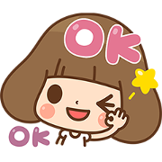 Kinoko New Life Stickers-Friendship Sticker for LINE & WhatsApp | ZIP: GIF & PNG