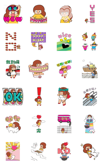 Mamuang Pop-Up Line Sticker GIF & PNG Pack: Animated & Transparent No Background | WhatsApp Sticker
