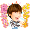 Masaru Yumeya Stickers Sticker for LINE & WhatsApp | ZIP: GIF & PNG