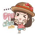 No Ne Big Font: Custom Stickers Sticker for LINE & WhatsApp | ZIP: GIF & PNG