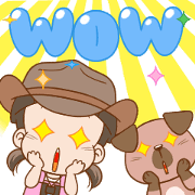 NomYen & HuaKrien Adventure Sticker for LINE & WhatsApp | ZIP: GIF & PNG