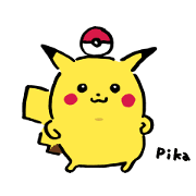 Pikachu, Switch Out! Come Back! Sticker for LINE & WhatsApp | ZIP: GIF & PNG