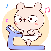 Sporting Lengtoo Baby Sticker for LINE & WhatsApp   ZIP: GIF & PNG