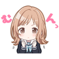 THE IDOLM@STER SHINY COLORS Sticker for LINE & WhatsApp | ZIP: GIF & PNG