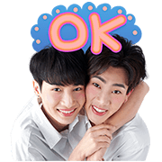 Theory of Love Sticker for LINE & WhatsApp | ZIP: GIF & PNG