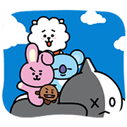 UNIVERSTAR BT21: Cosmic Chemistry Part 2 Sticker for LINE & WhatsApp | ZIP: GIF & PNG