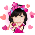 AKB48 Sticker for LINE & WhatsApp | ZIP: GIF & PNG