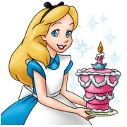 Alice in Wonderland Sticker for LINE & WhatsApp | ZIP: GIF & PNG