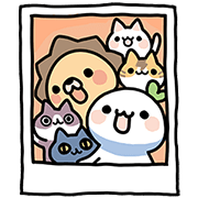 [BIG] Lailai & Chichi Couple Stickers Sticker for LINE & WhatsApp   ZIP: GIF & PNG