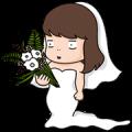 [Big] Aida & Kiki Couple Stickers Sticker for LINE & WhatsApp | ZIP: GIF & PNG