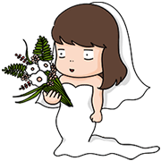 [Big] Aida & Kiki Couple Stickers Sticker for LINE & WhatsApp   ZIP: GIF & PNG