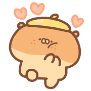 Chilling Punpa and Friends Sticker for LINE & WhatsApp | ZIP: GIF & PNG