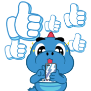Godji: Cute Emotion Sticker for LINE & WhatsApp | ZIP: GIF & PNG