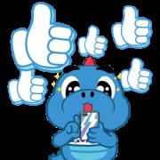 Godji: Cute Emotion Sticker for LINE & WhatsApp | ZIP: GIF & PNG