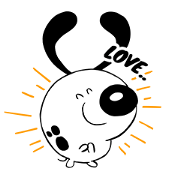 Gugug! Sticker for LINE & WhatsApp | ZIP: GIF & PNG