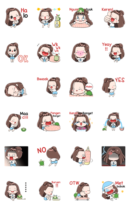 Gyoza: Animated Stickers Line Sticker GIF & PNG Pack: Animated & Transparent No Background | WhatsApp Sticker
