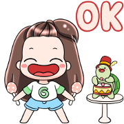 Gyoza Party Time Sticker for LINE & WhatsApp | ZIP: GIF & PNG