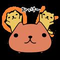 KAPIBARA-SAN Limited Edition Stickers