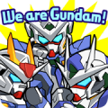LINE: GUNDAM WARS Sticker for LINE & WhatsApp | ZIP: GIF & PNG
