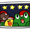 Merry Christmas from LINE Friends