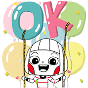 Ms Big Summer Big Stickers Sticker for LINE & WhatsApp | ZIP: GIF & PNG