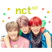 NCT 127 SPECIAL Sticker for LINE & WhatsApp   ZIP: GIF & PNG