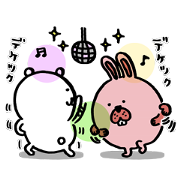 POKOPANG TOWN × JIBUN TSUKKOMI KUMA Sticker for LINE & WhatsApp | ZIP: GIF & PNG