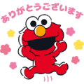 Sesame Street×LINE Score Sticker for LINE & WhatsApp | ZIP: GIF & PNG