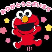 Sesame Street×LINE Score Sticker for LINE & WhatsApp | ZIP: GIF & PNG