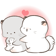 Super Soft Simao & Bamao Sticker for LINE & WhatsApp | ZIP: GIF & PNG