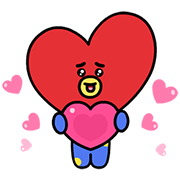 UNIVERSTAR BT21: Animated Special Sticker for LINE & WhatsApp | ZIP: GIF & PNG