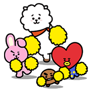 UNIVERSTAR BT21: Cuteness Overloaded! Sticker for LINE & WhatsApp | ZIP: GIF & PNG