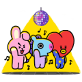 UNIVERSTAR BT21: Ultra Hyper Sticker for LINE & WhatsApp | ZIP: GIF & PNG
