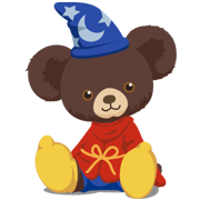 UniBEARsity Sticker for LINE & WhatsApp | ZIP: GIF & PNG