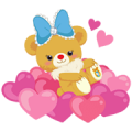 UniBEARsity: Bear-y Cute Sticker for LINE & WhatsApp | ZIP: GIF & PNG