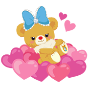 UniBEARsity: Bear-y Cute Sticker for LINE & WhatsApp   ZIP: GIF & PNG