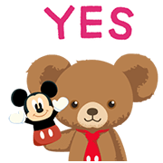 UniBEARsity: Polite Princess Sticker for LINE & WhatsApp   ZIP: GIF & PNG