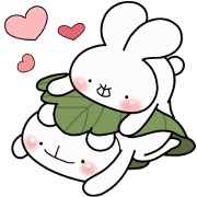 every day love UsakKuma 10 Sticker for LINE & WhatsApp | ZIP: GIF & PNG