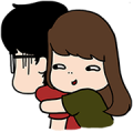 Aida & KiKi Sticker for LINE & WhatsApp | ZIP: GIF & PNG