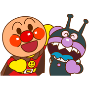 Anpanman part 2 Sticker for LINE & WhatsApp | ZIP: GIF & PNG